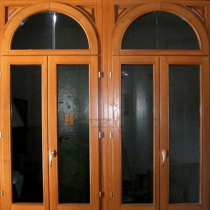 Finestre in legno falegnameria lorenzo brichese - Finestre ad arco prezzi ...