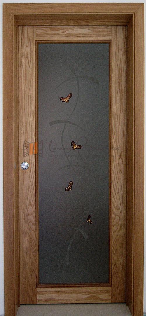Il serramento in legno di lorenzo brichese - Vetri per porte interne prezzi ...