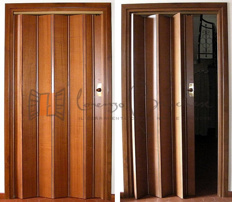 Catalogo porte interne falegnameria lorenzo brichese - Porta a soffietto in vetro ...